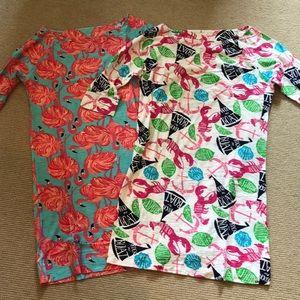 Lilly Pulitzer Cotton Shirt Dresses (2)